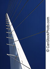 Sundial Bridge at Turtle Bay in Redding, California. ...