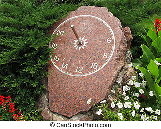 sundial - This sundial installed in Gomel (Belarus). The...