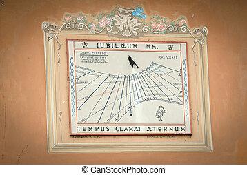 sundial - ancient sundial