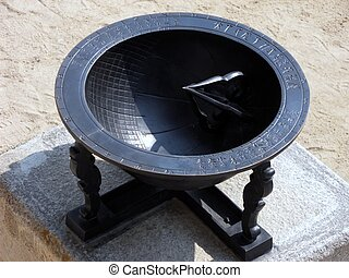 Sundial - Korea historial sundial