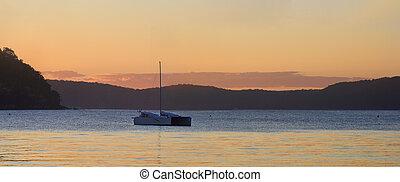 Sundown Palm Beach, Sydney Australia