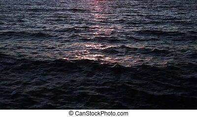 Sundown Waves Loop