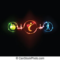 sundt hjerte, wallaper
