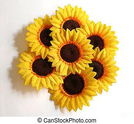 Sunflower Arrangement - An arrangement of artificial...