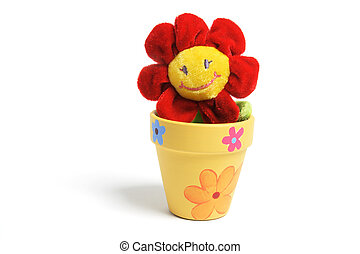 Sunflower Toy in Pot