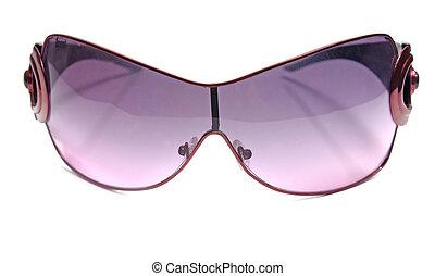 sunglasses female accessory isolated on white background