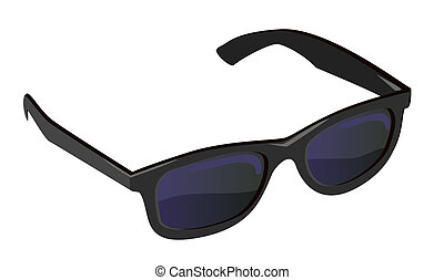 Sunglasses - Black sunglasses