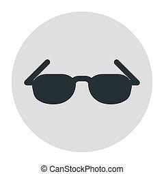 Sunglasses, glasses icon summer. Stock Vector illustration.
