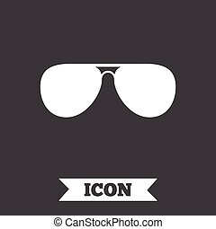 sunglasses, glasses., znak, icon., lotnik, pilot