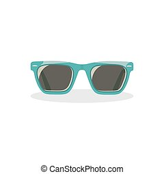 Sunglasses. Icon on isolated background