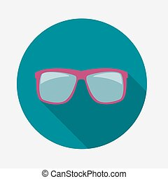 Sunglasses Icon Vector Illustration