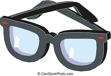 Sunglasses Icon vector sign symbol for design