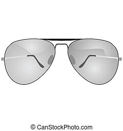 Sunglasses - Illustration of a pair of sunglasses
