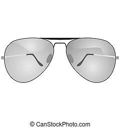 Sunglasses - Illustration of a pair of sunglasses
