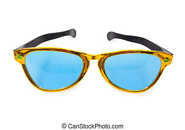Sunglasses isolated on the white