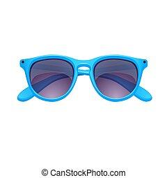 Sunglasses isolated on white background. Vector illustration. EPS 10.