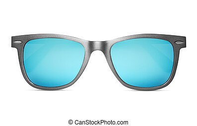 sunglasses isolated with clipping path