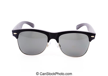 sunglasses on white background