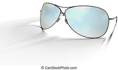 Sunglasses Reflect Sky Loop