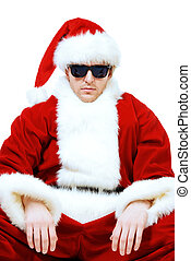 sunglasses santa