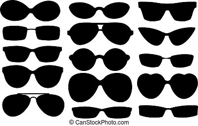 sun glasses collage