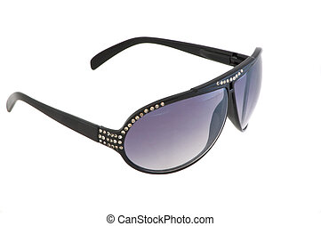 sunglasses - Sunglasses with pastes the isolated