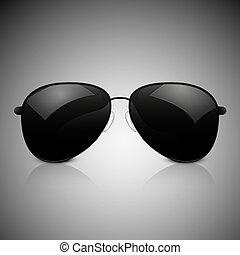 sunglasses - Sunglasses abstract vector illustration...