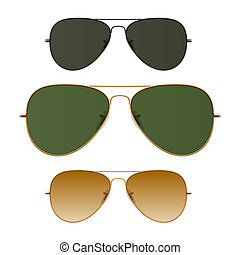 Sunglasses vector illustration.
