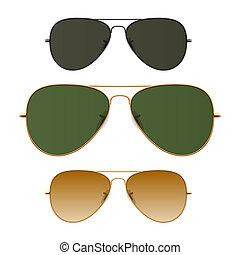 Sunglasses vector illustration.