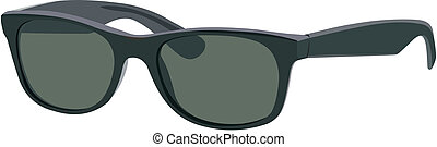 Sunglasses - Vector image of stylish and fashionable ...