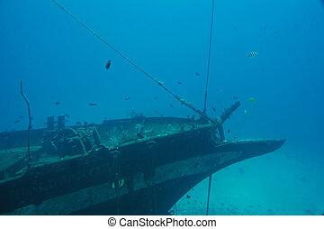 Sunken Ship Carthaginian Replica ; Atlantis IX Submarine...