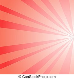 Sunlight abstract background. red color burst background. ...