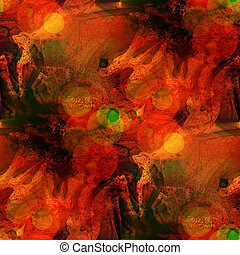 sunlight art seamless red texture background watercolor abstract brush