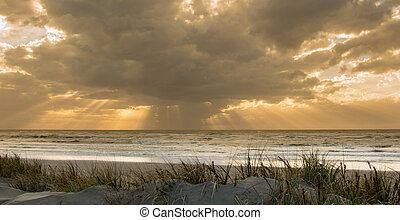 Sunlight Rays - Some wonderful sunlight rays beaming through...