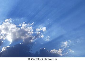 sky - sunlight sky background