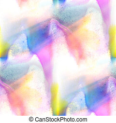 sunlight watercolor brush blue green abstract art artistic...