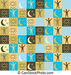 sun&moon&stars, fond