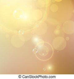 Sunny abstract sun ray background