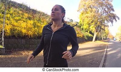 Sunny Autumn Run
