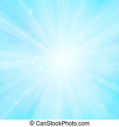 Sunny background with bokeh lights