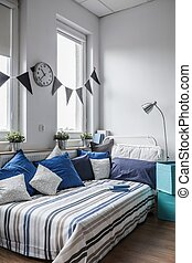 Sunny bedroom for children
