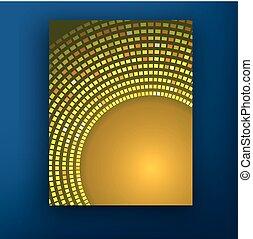 Sunny bokeh. Vector background EPS10.