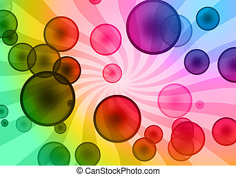 sunny bubble background - similar image available