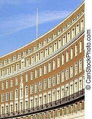 Sunny building