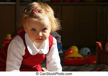 Sunny child\\\'s room