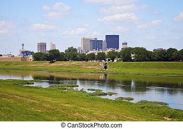 Sunny day in Dayton
