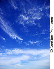 clouds - sunny sky background whith  clouds