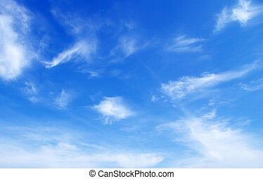 sky - sunny sky background whith clouds