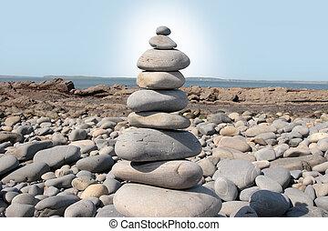 sunny spiritual rocks