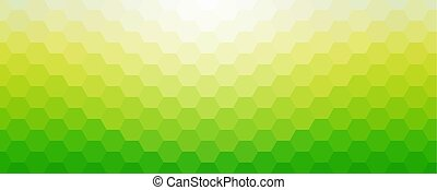 Sunny spring mosaic background